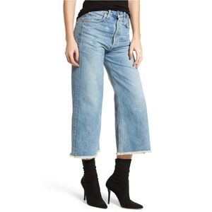 Citizens Of Humanity Jeans - Emma high rise wide leg crop jeans